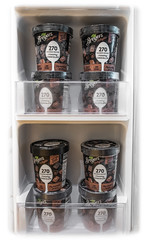 Well Stocked (lclower19) Tags: 119 2019 54 icecream fridge refrigerator door pints containers chocolate