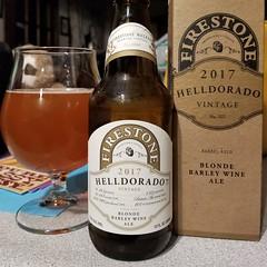 Helldorado (2017) (Pak T) Tags: american blonde barleywine firestonewalkerbrewing bottle glass pasorobles california box alcohol beer beerporn beverage drink samsunggalaxys8 tmobile untappd ale 1