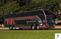 Montana - 410 (RV Photos) Tags: montana montanaturismo onibus bus turismo br116 rodoviapresidentedutra busscar doubledecker volvo visstabussdd 8x2