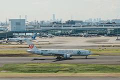 _MG_8396 (waychen_c) Tags: japan jp tokyo tokyometropolis ota otacity haneda hanedaairport tokyointernationalairport hnd rjtt boeing 777 777200 japanairlines ja8984 aircraft airplane aviation airport runway skyecolivery cityscape urban tokyo14days 日本 東京 東京都 大田 大田区 羽田 羽田空港 ターミナル1 羽田機場 日本航空 波音 jal