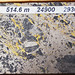 Sulfidic basaltic lapillistone (Middle Tholeiitic Unit, Kidd-Munro Assemblage, Neoarchean, 2.711 to 2.719 Ga; drill core at the Potter Mine, east of Timmins, Ontario, Canada) 2