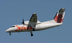 DHC-8 | C-FPON | YYZ | 20070529 (Wally.H) Tags: bombardier dehavillandcanada dhc8 dash8 cfpon 836 aircanadajazz yyz cyyz toronto lesterbpearson airport
