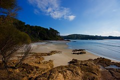 Quiet beach (jack eastlake) Tags: eden merimbula pambula seascape park national boyd ben nsw coast south far beaches quiet