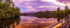blue ridge lake sunset (McMannis Photographic) Tags: photography panorama hdr highdynamicrange pano