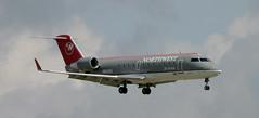 CRJ | N8432A | MEM | 20060912 (Wally.H) Tags: bombardier canadair regionaljet crj crj200 n8432a nwa northwestairlink pinnacleairlines mem kmem memphis airport