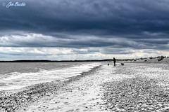 Walberswick Beach (Jen Buckle) Tags: walberswickbeach walberswick suffolk beach sky clouds sea waves landscape landscapephoto landscapephotograph landscapephotography photoshop jenbuckle wwwflickrcompeoplejenbuckle nikon nikond7500 atmospheric