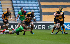 Nizaam Carr (davidhowlett) Tags: ricoharena quins wasps premiership waspsrugby gallagher rugbyunion ricoh rugby coventry harlequins