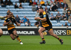 Kieran Brookes (davidhowlett) Tags: ricoharena quins wasps premiership waspsrugby gallagher rugbyunion ricoh rugby coventry harlequins