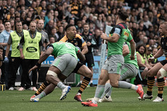 Marcus Watson (davidhowlett) Tags: ricoharena quins wasps premiership waspsrugby gallagher rugbyunion ricoh rugby coventry harlequins