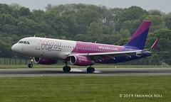 Wizz Air UK A320 ~ G-WUKD (© Freddie) Tags: luton bedfordshire lutonairport ltn eggw ltneggw airbus a320 wizzair wizzairuk gwukd fjroll ©freddie