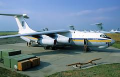 76413 - Melitopol Air Base (OOX) 27.05.2002 (Jakob_DK) Tags: il76 il76md ilyushin ilyushinil76 il76candid ilyushin76 ilyushin76md ilyushinil76md cargo ukdm oox melitopol melitopolairbase ukrainianairforce 2002 76413
