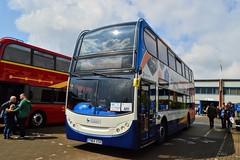 15983 YN64XSK (PD3.) Tags: guildford surry alexander dennis ltd adl chassis works plant bus buses uk england stagecoach south 15983 yn64xsk yn64 xsk scania enviro 400