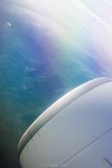 DSC_1149 (Aurmorea) Tags: sun sunset dominican playa beach golden plane boeing airfrance champagne