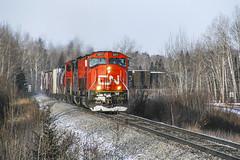 020307 CN 5611 03 (dan mackey) Tags: cn canadiannational superior wisconsin superiorwisconsin southbound wisconsincentral cn5611 billjelinek southrange