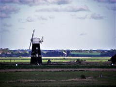 Berney Arms, Reedham, Norfolk (flicky@flickr) Tags: berneyarms reedham norfolk drainage windmill windpump tower mill