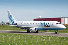 Flybe - Embraer ERJ-175 [G-FBJK] at Luxembourg Airport - 22/04/19 (David Siedler) Tags: flybe embraer erj embraererj175 erj175 gfbjk luxembourg findel airport luxembourgairport findelairport ellxlux