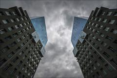 Bilbao (Jose Cantorna) Tags: euskadi arquitectura torres edificios simetría cielo sky cloud nubes bilbao