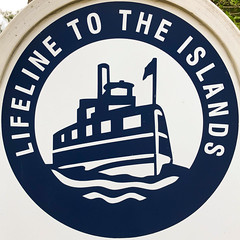 Lifeline to the Islands (Timothy Valentine) Tags: squaredcircle large 0519 capecod sign 2019 steamshipauthority cataumet massachusetts unitedstatesofamerica