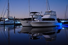 Hope Harbour (tewhiufoto) Tags: tewhiufoto nikond5000 nikondigital australia reflections water boat queensland serenity marina harbour travel