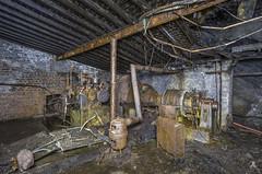 Power generator (AnotherStepAway) Tags: underground exploring exploration ue urban urbex abandoned forgotten industry lightning industrial ore lightpainting darkness dark below adventure flashlight