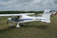 G-JWDW (IndiaEcho) Tags: gjwdw icarus c42 eghp popham airport airfield light general civil aircraft aeroplane aviation basingstoke hampshire england canon eos 1000d microlight fly in