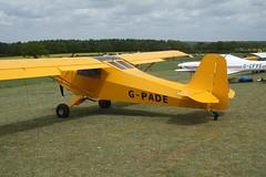 G-PADE (IndiaEcho) Tags: gpade escapade jabiru eghp popham airport airfield light general civil aircraft aeroplane aviation basingstoke hampshire england canon eos 1000d microlight fly in