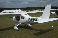 G-HATH (IndiaEcho) Tags: ghath hv100 merlin eghp popham airport airfield light general civil aircraft aeroplane aviation basingstoke hampshire england canon eos 1000d microlight fly in