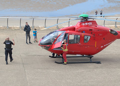 Air ambulance on the prom at Blackpool (Tony Worrall) Tags: blackpool resort place england english north northwest visit county town area northern location lancs lancashire uk fylde fyldecoast coastal tour country welovethenorth helicopter prom transport travel air metal airambulance help aid nw update attraction open stream item greatbritain britain british gb capture buy stock sell sale outside outdoors caught photo shoot shot picture captured ilobsterit instragram