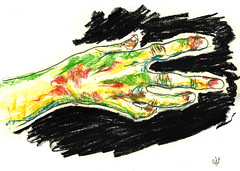 Hand of Art (Alejandro López González) Tags: hand hands manos mano color colorful colorido expressionist expresionista expresionismo expressionism expression art arte artistic uñas nails nail uña anatomia anatomy pastel lapiz pen grafito sketch boceto draw dibujo paint pintura beutiful bello precioso wonderful wonder wonderfull bones arm brazo dedos fingers artwork painting love desing ilustration canvas artsy amor fineart