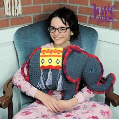 Amir the Elephant free crochet pattern by Jessie At Home - 1 (JessieAtHome) Tags: amir elephant free crochet pattern