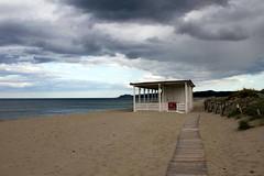 aspettando l'estate (mat56.) Tags: panorama paesaggi paesaggio landscapes landscape spiaggia beach nuvole nubi clouds mare sea lacaletta posada sardegna sabbia sand antonio romei mat56 cielo sky