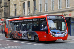 NK15 EOG, Newgate Street, Newcastle, September 5th 2016 (Southsea_Matt) Tags: nk15eog 5416 route47 wright streetlite goaheadnortheast september 2016 autumn canon 60d sigma 1850mm bus omnibus vehicle transport unitedkingdom tynewear england newcastle newgatestreet redkite