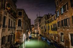 Night Cityscape in Venice