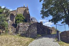 Ruin (BlossomField) Tags: way ruin scharfenstein sachsen deutschland