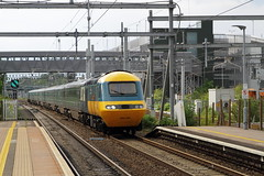 Didcot Parkway, UK  |  2019 (keithwilde152) Tags: hst 43002 43198 class43 didcot parkway uk 2019 station town platforms tracks railway high speed train outdoor summer