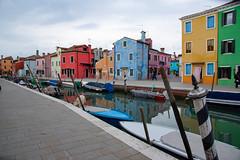 Burano (SacreFrancis) Tags: venise italie italia eau water ocean mer sea house canal