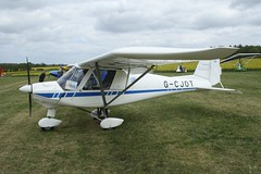 G-CJOT (IndiaEcho) Tags: gcjot ikarus c42 eghp popham airport airfield light general civil aircraft aeroplane aviation basingstoke hampshire england canon eos 1000d microlight fly in