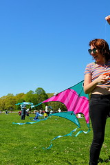 Beautiful and High 24 (Abbie Stoner) Tags: girl woman kite portrait redhead park outside