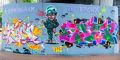 Graffiti. (paulcunningham57) Tags: birmingham birminghamcitycentre uk graffiti art abstract street urban
