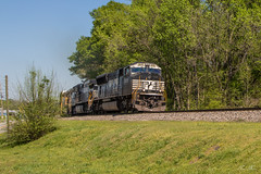 NS 187 at Austell (travisnewman100) Tags: norfolk southern ns train railroad austell georgia emd sd70m c449w ge birmingham east end 187 rr freight manifest
