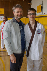 They turned the camera on the photographer (TheBurgners) Tags: tournament wtsda sanfrancisco missionhigh paresh tang soo do