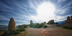 (119/19) Castillo de Tabernas (Pablo Arias) Tags: pabloarias photoshop ps capturenxd españa photomatix nubes cielo arquitectura ruinas castillo tabernas almería andalucía