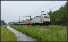 1/4 NSR 186 142 ICR - Delft-Zuid, 19-05-2019 (dloc567) Tags: trein train zug zuch nsr delft traxx icr bombardier br186