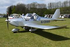 G-CEGO Evektor EV-97 Eurostar (graham19492000) Tags: pophamairfield gcego evektor ev97 eurostar