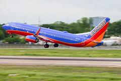 2019_04_29 DAL Stock-5 (jplphoto2) Tags: 737 737800 boeing737 dal dallaslovefield jdlmultimedia jeremydwyerlindgren kdal lovefield n8638a southwest southwest737 southwestairlines southwestairlines737 southwestairlines737800 aircraft airline airplane airport aviation