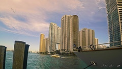 The Isle of Brickell in the afternoon. (Aglez the city guy ☺) Tags: brickell brickellkey architecture afternoon building downtownmiami urbanexploration riverbank riverwalk colors city clouds cityscapes yacht yachtride sea seagull outdoors miamifl