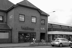 Challenge Friday, week 18, theme dusk (1) - dusk at Waitrose (karenblakeman) Tags: caversham uk challengefriday cf19 supermarket reading berkshire may 2019 dusk waitrose