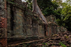 Preah Khan – Temple wall