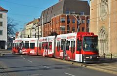 Braunschweig, Bohlweg 25.02.2019 (The STB) Tags: deutschland germany publictransport citytransport öpnv tram tramway streetcar strassenbahn strasenbahn
