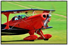 G-BTOO Pitts S-1C Special (BIKEPILOT, Thx for + 5,000,000 views) Tags: gbtoo pitts s1cspecial biplane red black motion propblur aircraft aeroplane aviation flying flight airfield aerodrome airport colour bright aeroautojumbleclassicvehiclerallyflyin pophamairfield eghp flyin